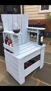 Wine Chair baby showers Pinterest Wine, Wood