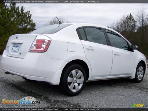 nissan 2008 white white nissan sentra autos post