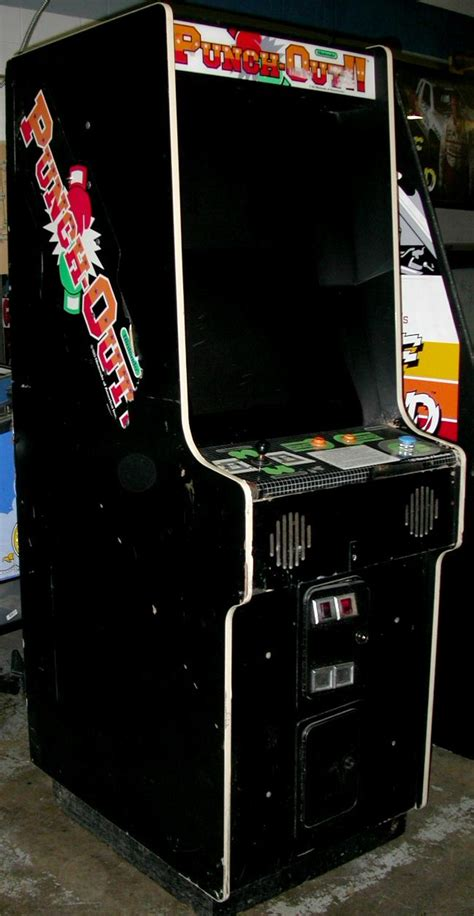Punch Out Video Arcade Machine