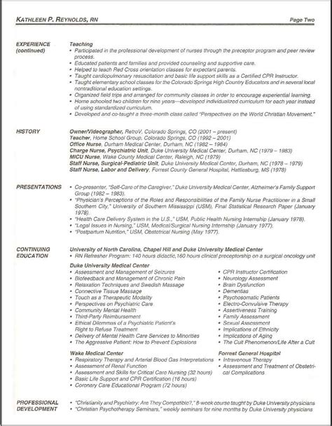 Labor And Delivery Tech Resume by 100 Labor And Delivery Resume Exles 18