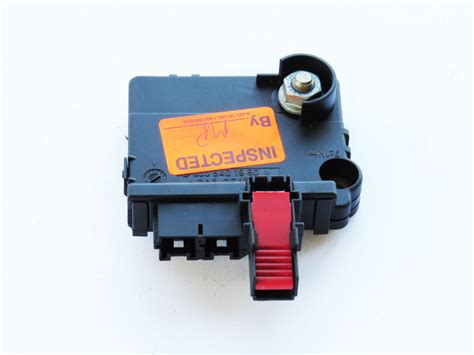 Mercede S430 Fuse Box by Mercedes S430 S500 2000 2002 Oem Fuse Box Rear 0005401950