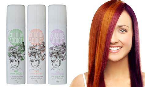 Colour Addict Hair Chalk Sprays Groupon