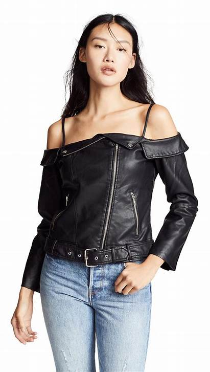 Leather Vegan Jacket Dakota Bb Sandra Shoulder