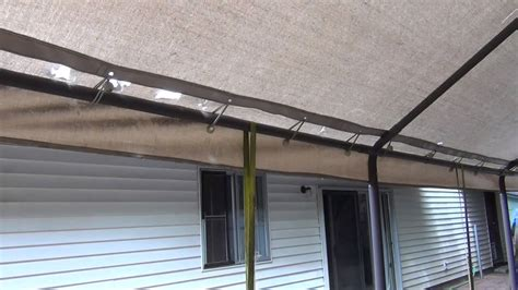 carport canopy replacement youtube