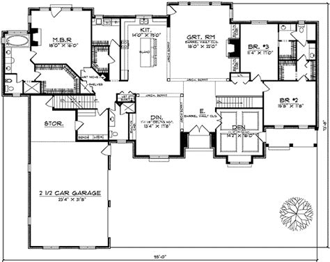 Ranch Style Homes Floor Plans by Beautiful Ranch Style Home Plan 89135ah Architectural