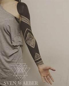 Blackwork Tattoo Arm  Best Tattoo Ideas Gallery