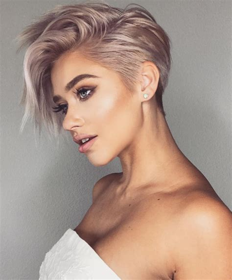 10 trendy very short haircuts for cool short hair styles 2020