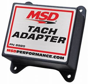 Msd 8920 Tach  Fuel Adapter
