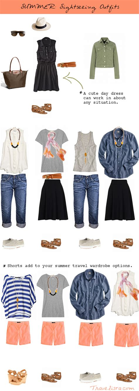 Packing Essentials for Summer Outfit Options - Travelista