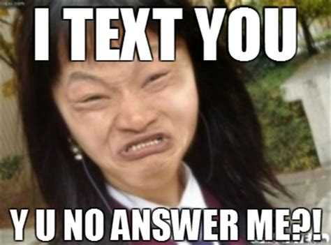 No Text Back Meme - y u no text back by stonerrainbows on deviantart