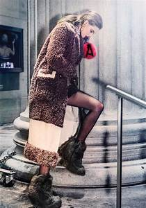 Lindsey Wixson Smolders in Cold Weather Fashions for Vogue ...