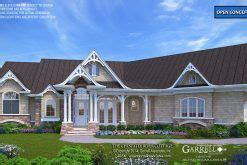 Country Cottage House Plan 01080 Country cottage house
