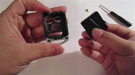 replace change acura flip key battery remote tsx tl rdx