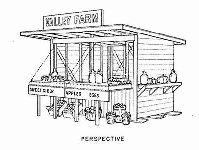 Plans Stand Farm Building Farmers Picnic Vegetable