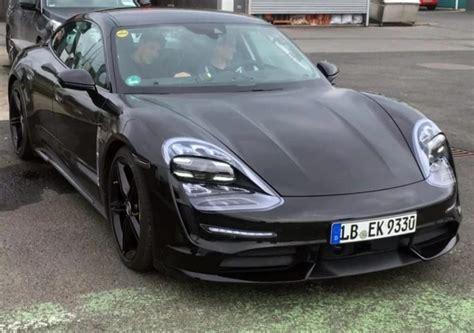 Porsche Taycan Drops The Camo, Reveals Its True Headlights ...