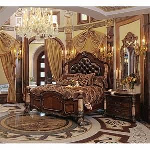 Michael amini victoria palace 4pc california king size for Michael amini bedroom furniture