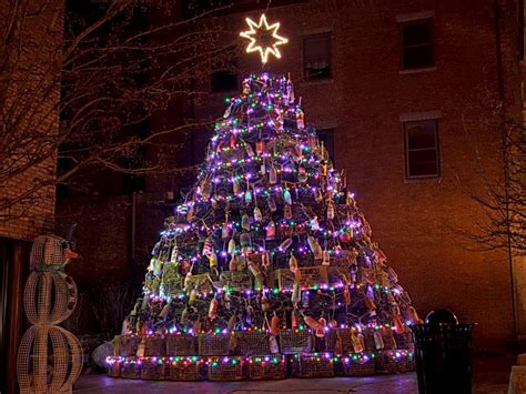 lobster trap christmas tree gloucester ma cape ann