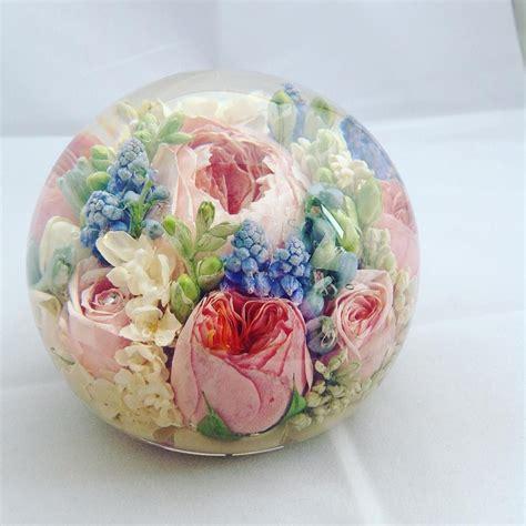 wedding bouquet preservation  paperweights