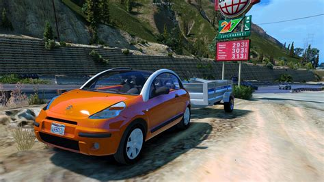 Citroen C3 Pluriel (add-on/replace/extra/trailer)