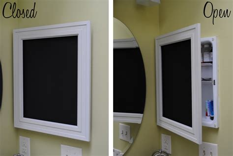 how to frame a medicine cabinet mirror chalkboard medicine cabinet infarrantly creative