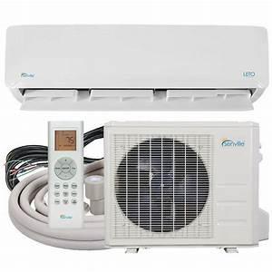 12000 Btu Mini Split Air Conditioner With Heat Pump By