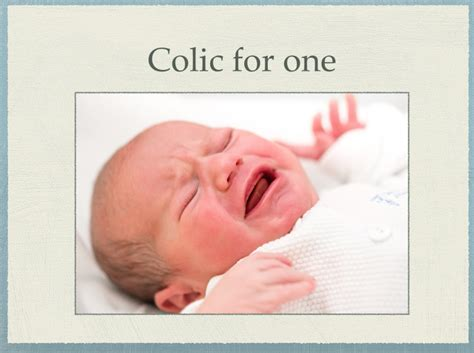 Calming Colic Colic In Babies Infantile Colic