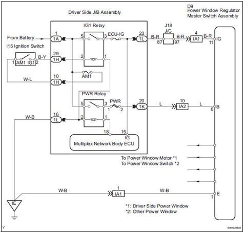Toyota Sienna Service Manual Power Windows Not Operate