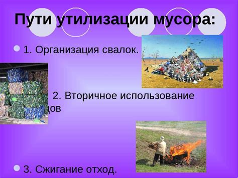 Проект Значение вторичной переработки отходов и возможности её реализации в быту . Социальная сеть работников образования
