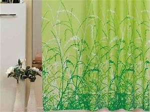 Duschvorhang 180 X 220 : edler textil duschvorhang 180 x 200 cm gr ner garten gr n weiss inkl ringe kaufen bei ekershop ~ Eleganceandgraceweddings.com Haus und Dekorationen