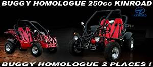 Buggy Homologue Route 2 Places 250cc Rider Kinroad     Pas