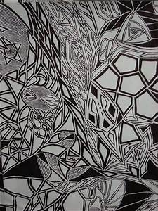 Abstract line drawing by SilentSigil on DeviantArt
