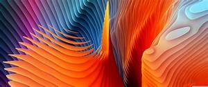 Colorful, Abstract, Waves, 4k, Wallpapers