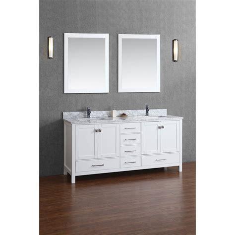 real wood vanity buy vincent 72 inch solid wood bathroom vanity in