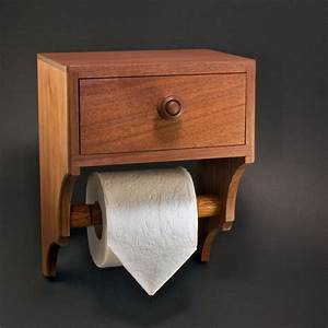 Unique, Toilet, Paper, Holder, With, Drawer, And, Shelf