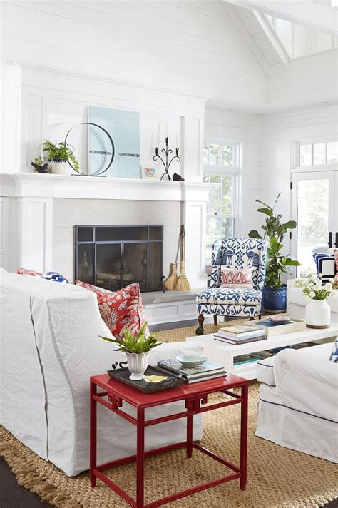 ideas  decorating  fireplace   country style