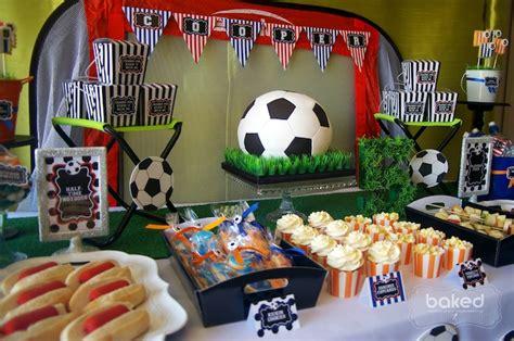 karas party ideas soccer themed birthday party  kara