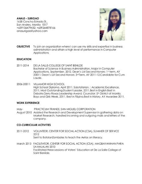20194 exle of resume for nurses 210 best images about sle resumes on