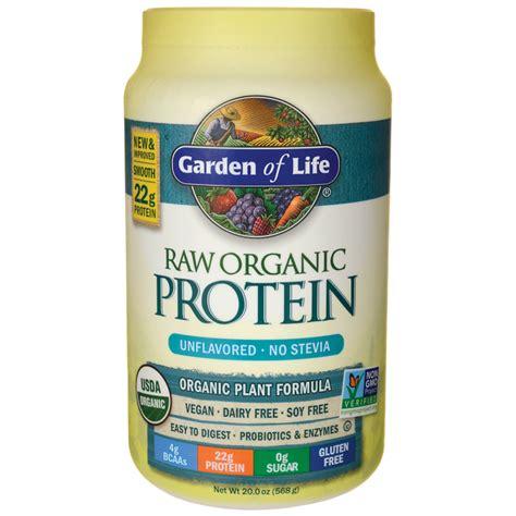 garden of protein garden of organic protein unflavored 20 oz 568