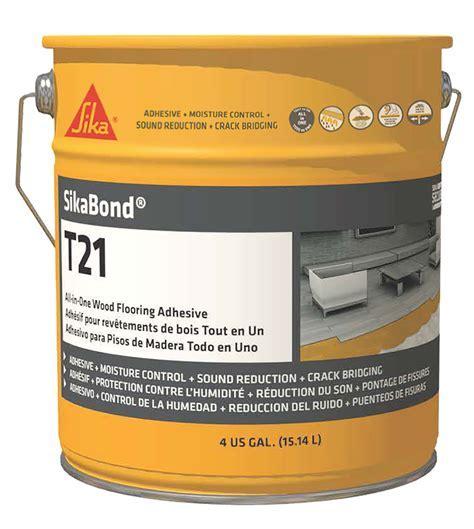 SikaBond® T21   AB Hardwood Flooring and Supplies