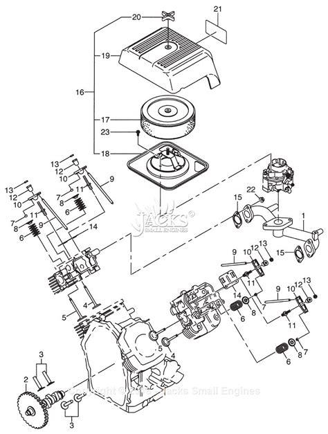 Robin Subaru Parts Diagram For Intake Exhaust New Type