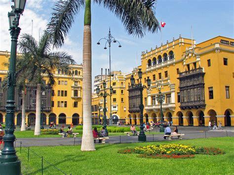 Plaza Mayor Lima-Peru