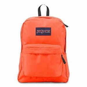 JanSport SuperBreak School Backpack - Tahitian Orange