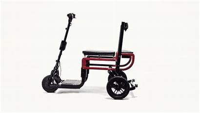Scooter Mobility Lite Folding Lightweight Unfolding Kickstarter