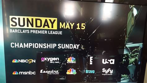nbc sports  televise   games   networks