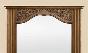 132 miroir en bois sculpte miroir de forme mouvement en With tapis champ de fleurs avec canapé d angle arrondi pas cher