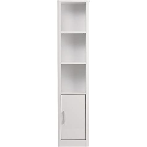 Tall White Shaker Style Bathroom Cabinet Freestanding by Bathroom Cabinets Tallboy White Bathroom Design