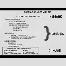 Note Making Format The Cbse Way Under 4 Minutes L Animated Video Youtube