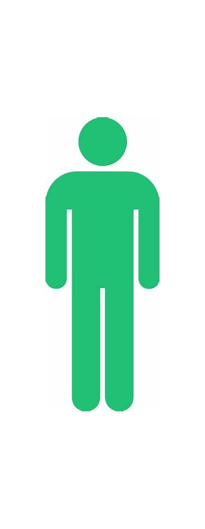 Stick Clip Symbol Toilet Sign Clipart Restroom