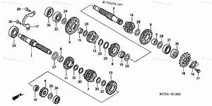 Honda Motorcycle 2004 Oem Parts Diagram For Transmission
