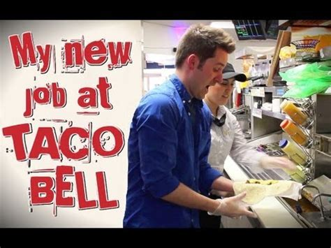 My New Job At Taco Bell Youtube